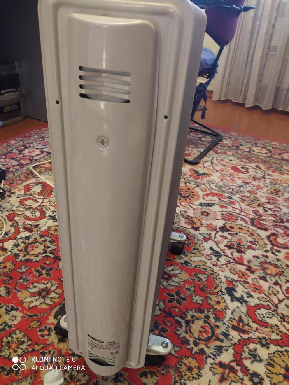 Beko elektrik radiatoru. Photo 2