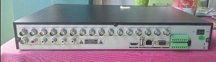 Καταγραφικο 16 καμερων Anga 16ch DVR AGE-2416LA. Photo 1