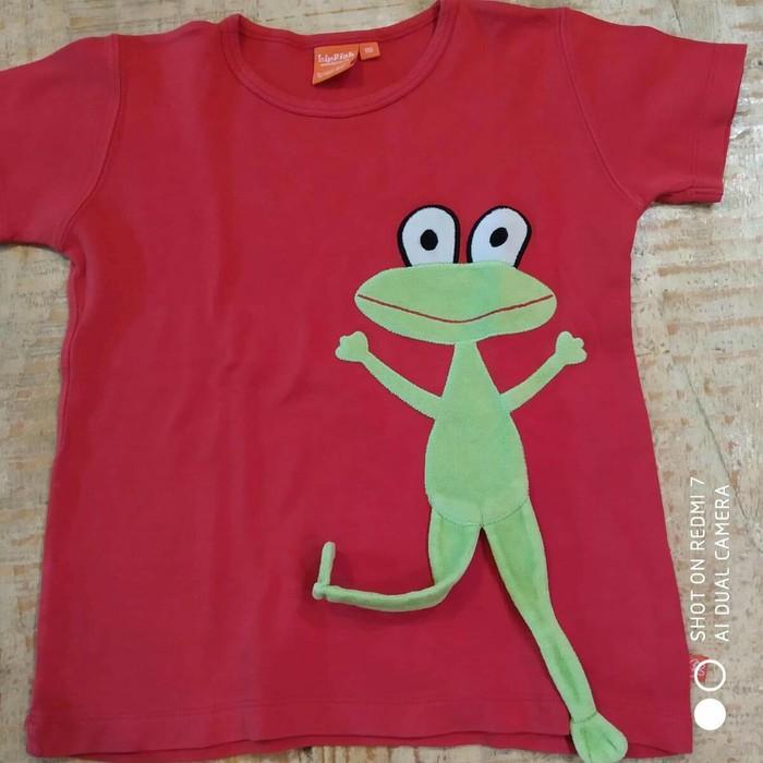 Lip fish βαμβακερο μπλουζακι για παιδακι 4-5 ετων. Photo 0