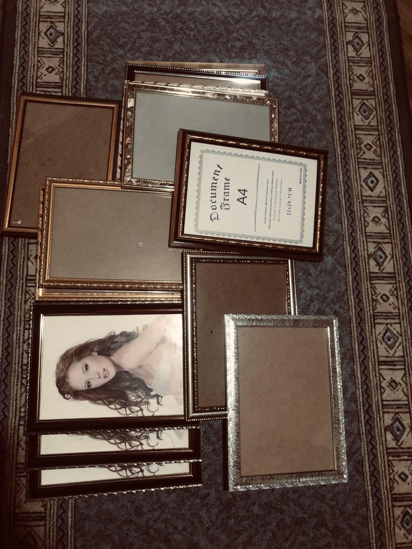 Продаю рамочки для фотографий формата А4: Продаю рамочки для фотографий формата А4