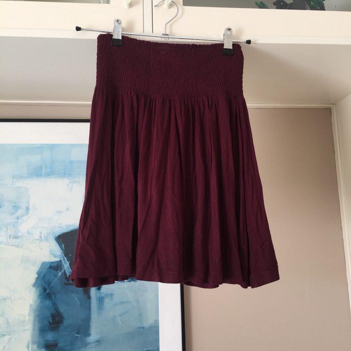 H&M βυσσινί αέρινη φούστα με ελαστική σε Νέα Σμύρνη