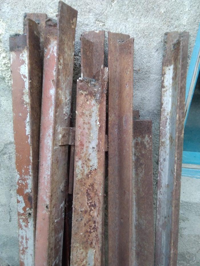 Стойки для забора высота 1,45 метр (10шт) в Сокулук