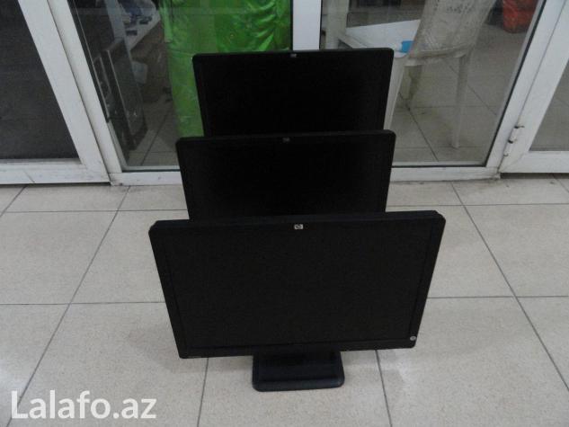 """Az işlənmiş əla vəziyyətdə 22"""" hp le2201w monitor в Баку"""