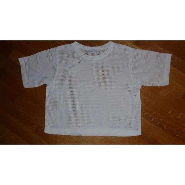 Ολοκαινουργια medium μπλουζα τρυπητη . Photo 0