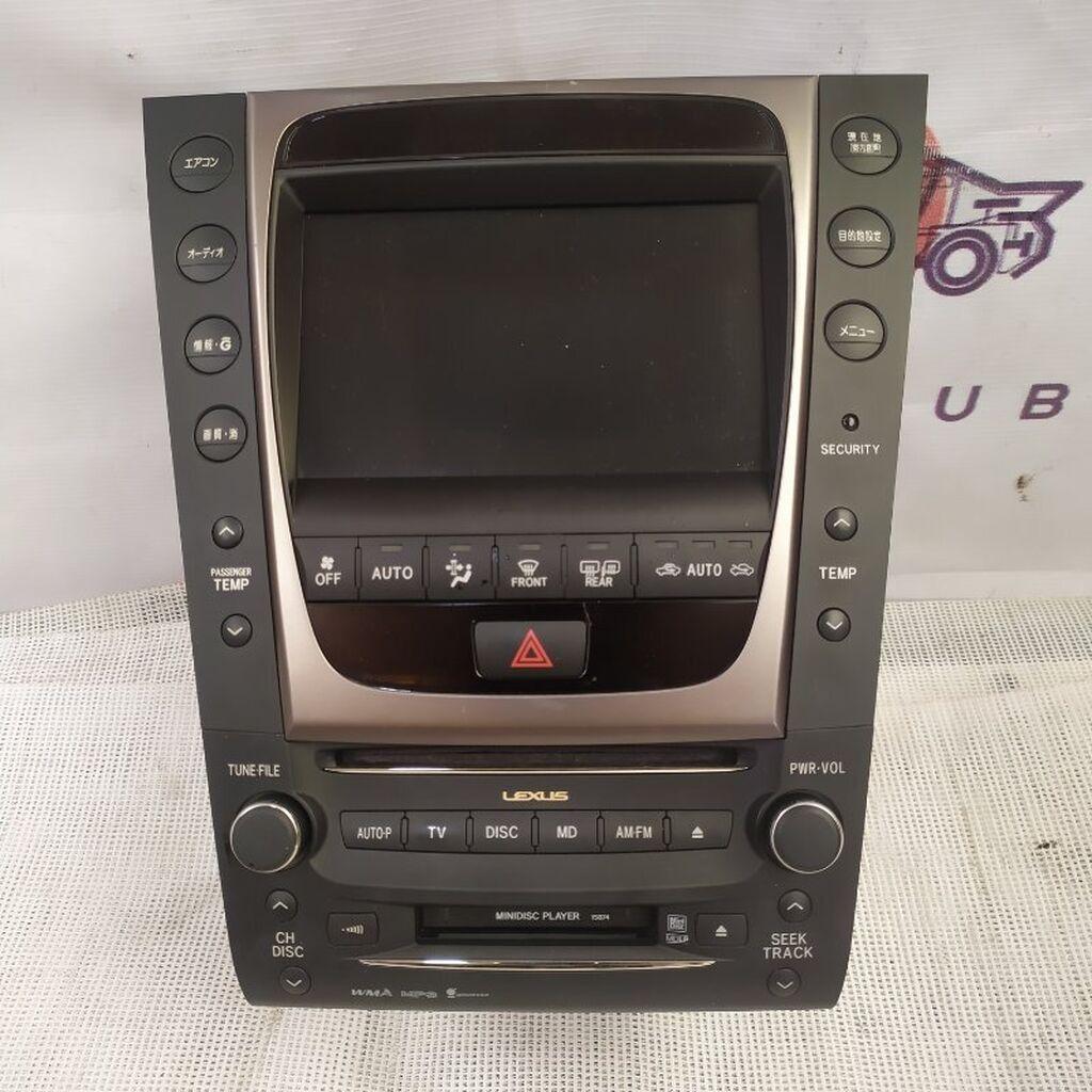 Lexus Gs S190 2GR-FSE 2007: Lexus Gs S190 2GR-FSE 2007