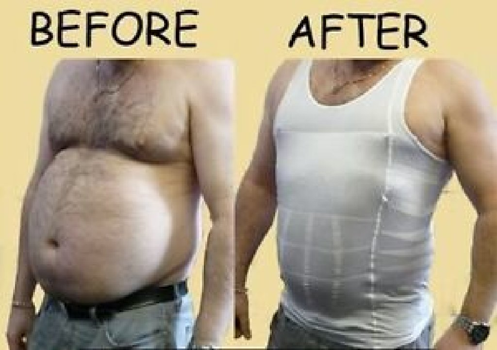 Майка для похудения мужской