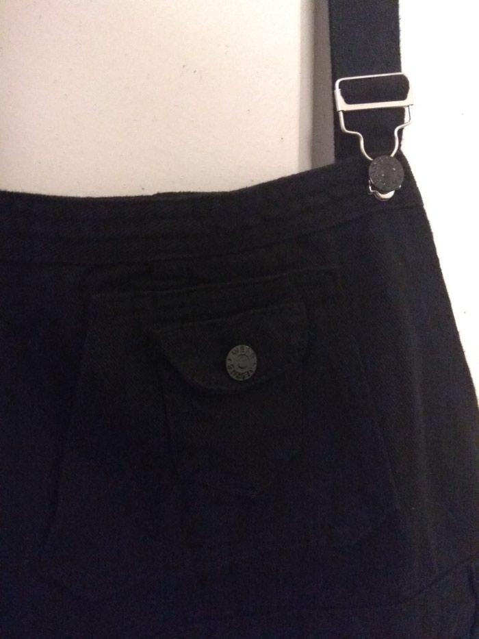 Μαύρη σαλοπετα παντελόνι, μεγεθος xl. Photo 2