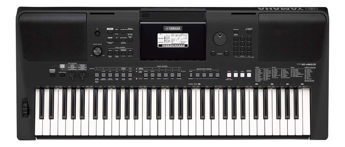 Синтезатор YAMAHA PSR-E463 – портативные клавишные начального уровня от знаменитого японского производителя