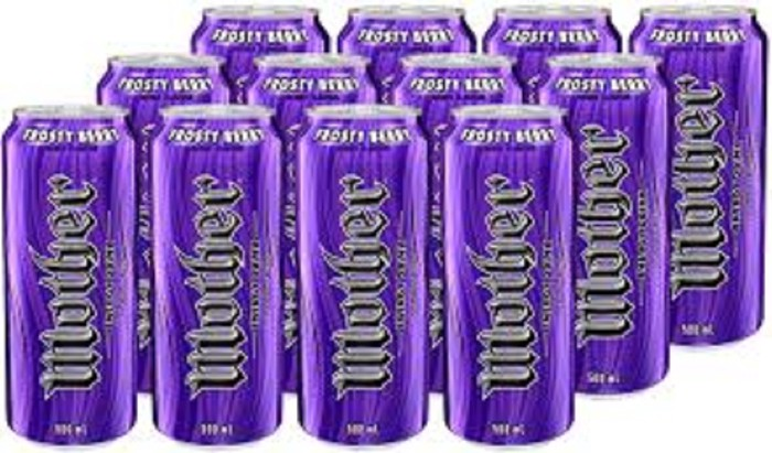Mother Frosty Berry Energy Drink Can 500ml 12pk . Photo 0