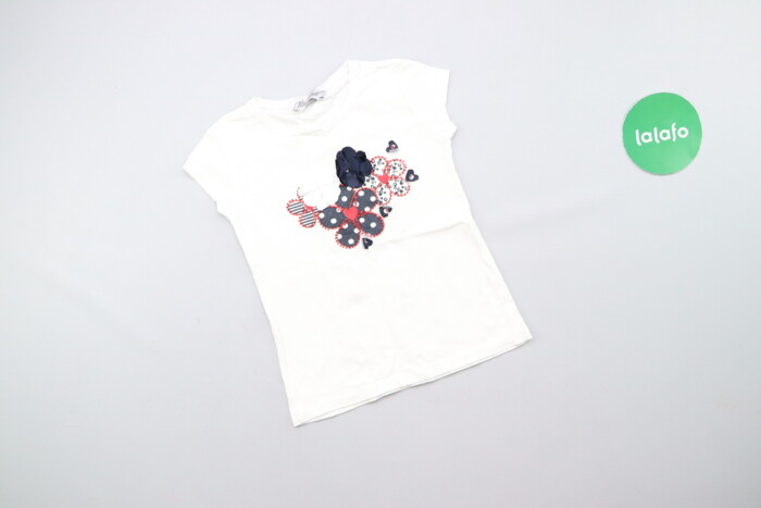 Дитяча стильна футболка Miss Lorelli, зріст 116 см    Довжина: 39 см Ш: Дитяча стильна футболка Miss Lorelli, зріст 116 см    Довжина: 39 см Ш