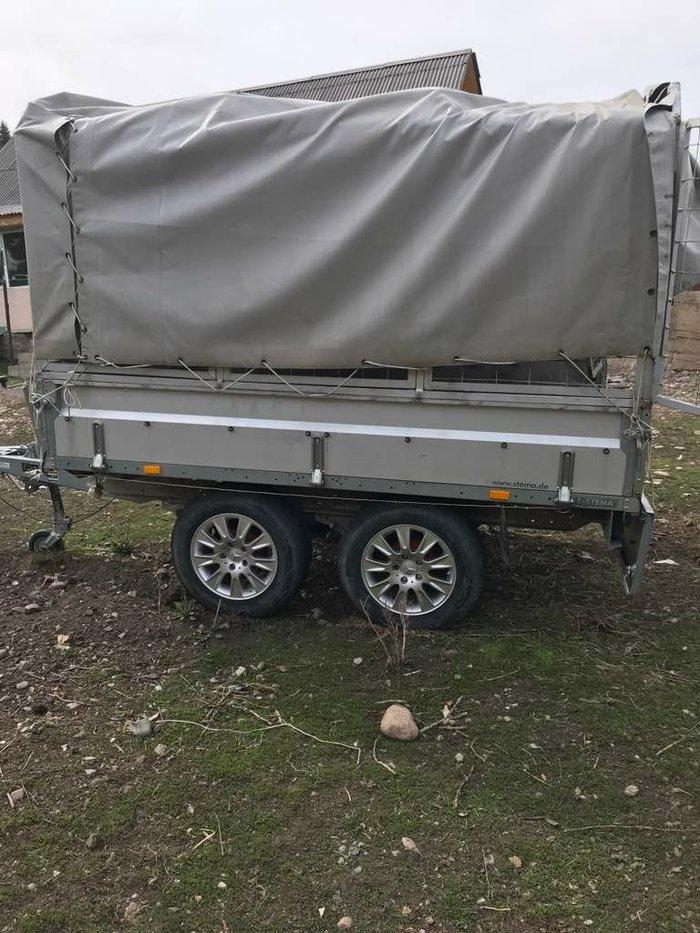 Продаю заводской авто прицеп пр- во в Караколе