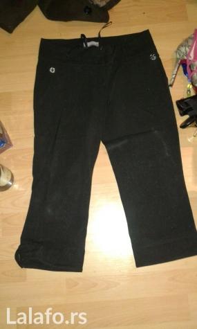 Trofrtaljne pantalone na peglu za zimu