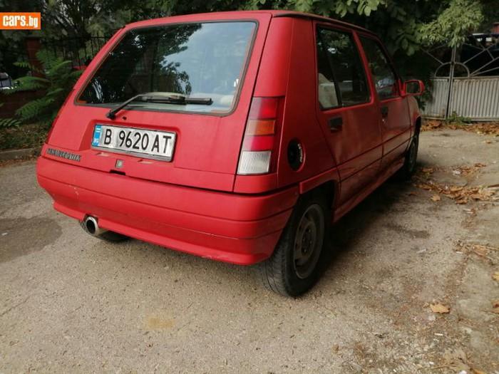 Renault 5 1989. Photo 1