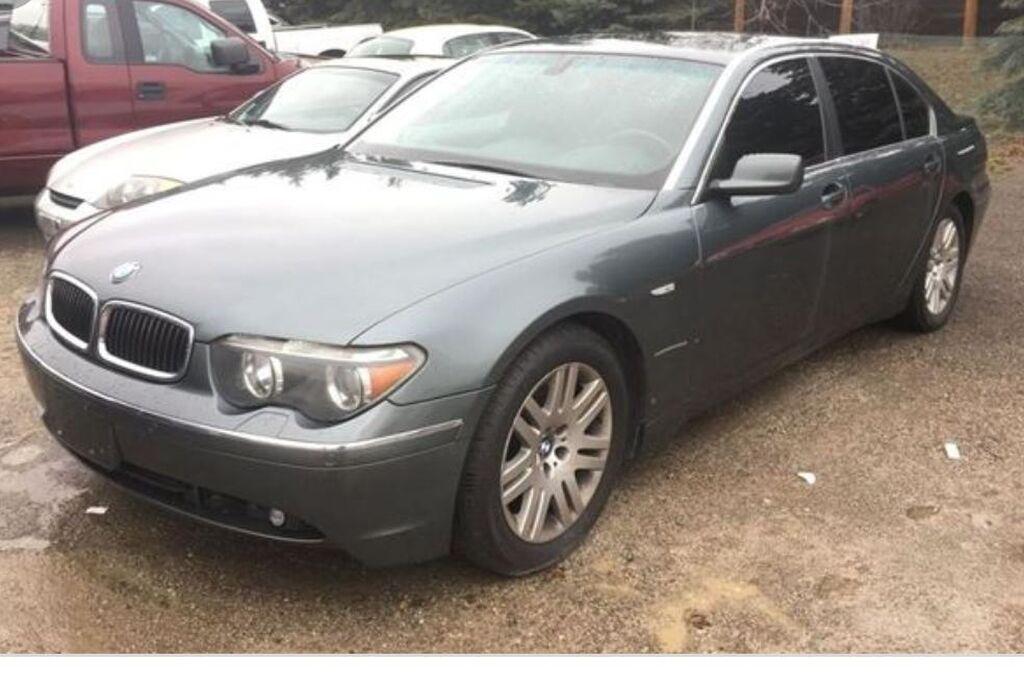 BMW 7 series 4.4 л. 2002