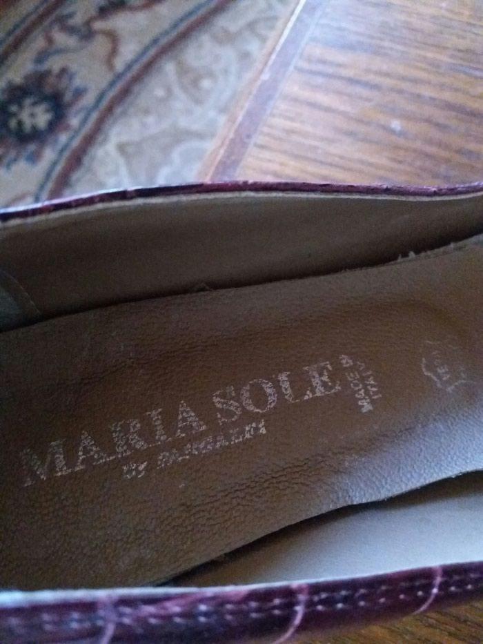 Cipele od extra kože italijanske samo jednom obuvene br.37. Photo 1