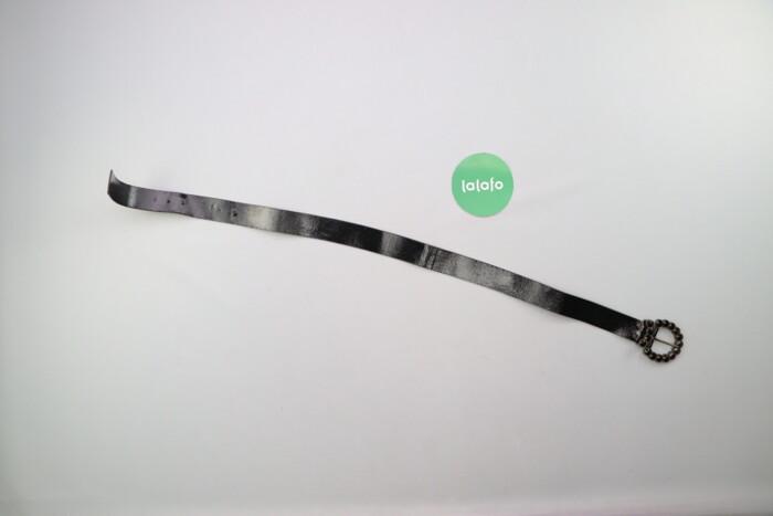 Жіночий лаковий пасок з чорними камінчиками    Довжина: 90 см  Стан ду: Жіночий лаковий пасок з чорними камінчиками    Довжина: 90 см  Стан ду