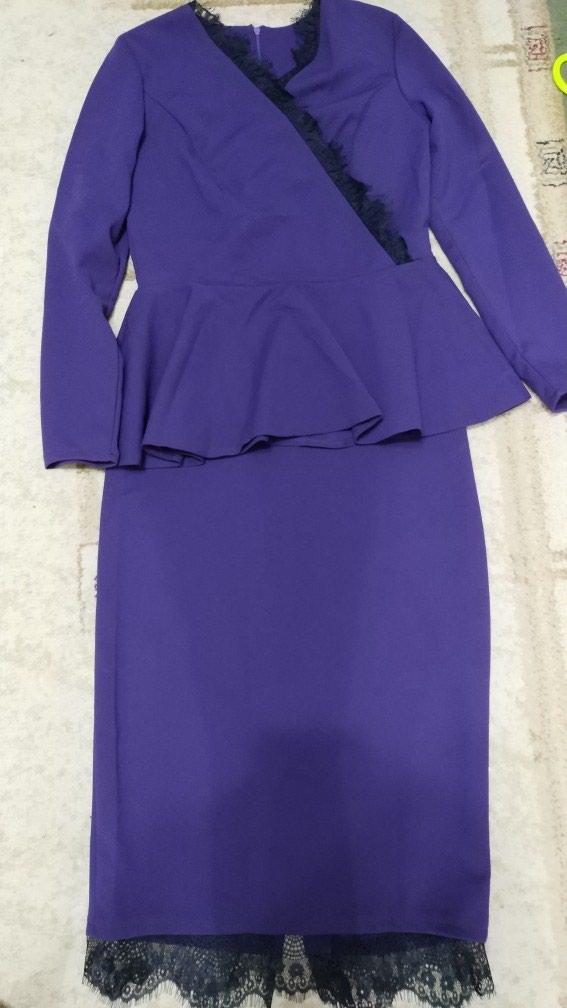 Костюмы в Бишкек: Костюм, юбка, блузка, как платье, размер 46, новое