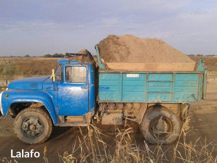 ПЕСОК с доставкой по городу.  в Бишкек