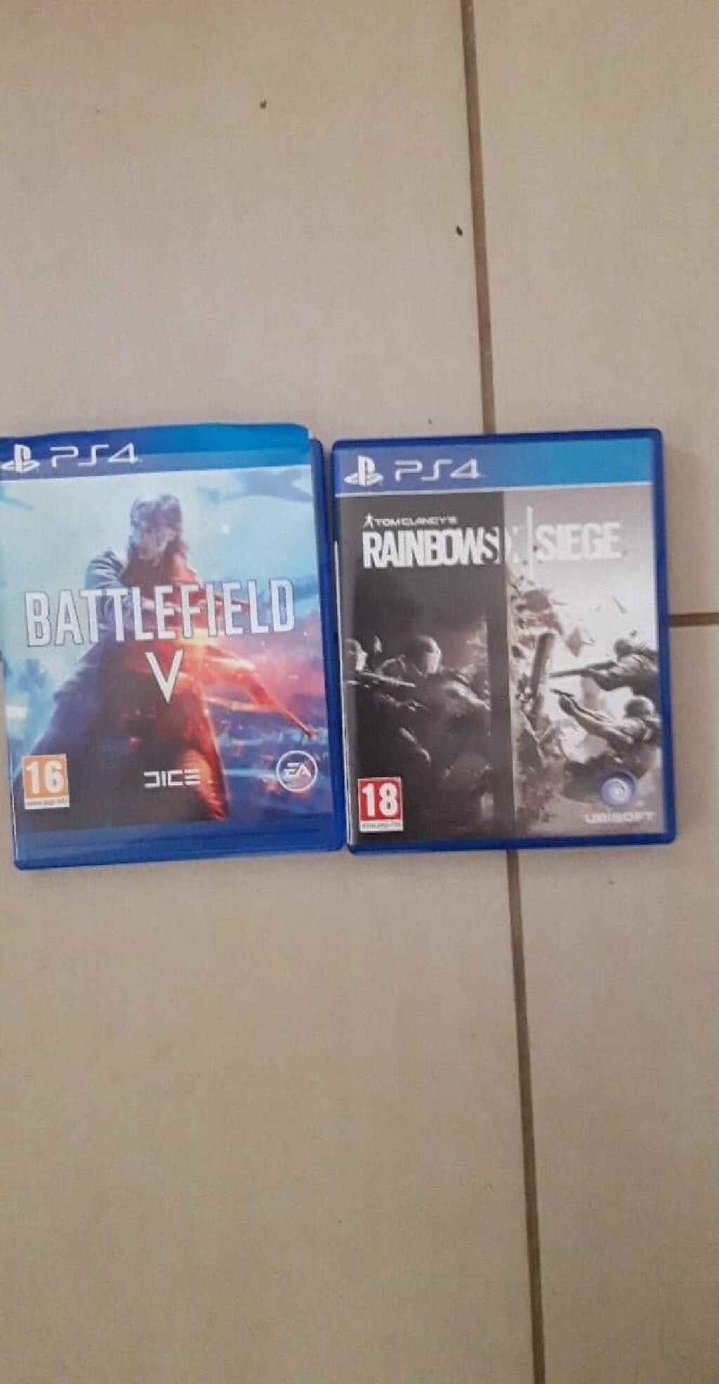 Battlefield 5 και Rainbow six siege για Ps4