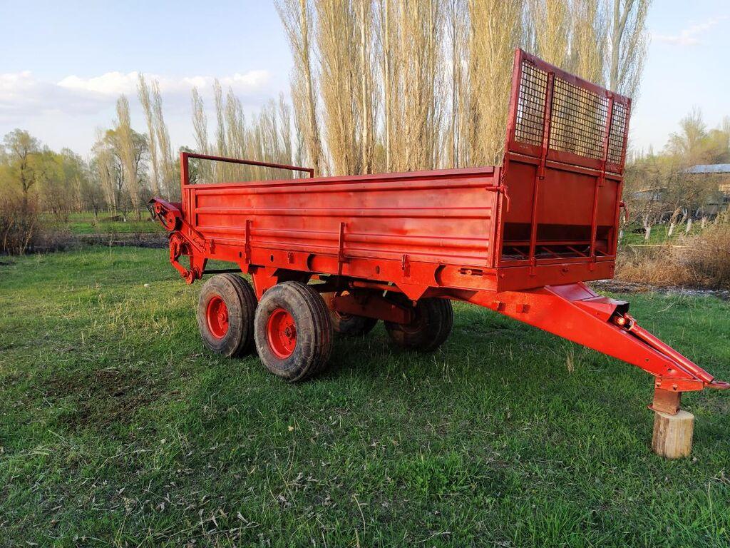 Навозоразбрасыватель, навозник, прицеп, 6 тонник, Роу 6, прт, прицеп на трактор