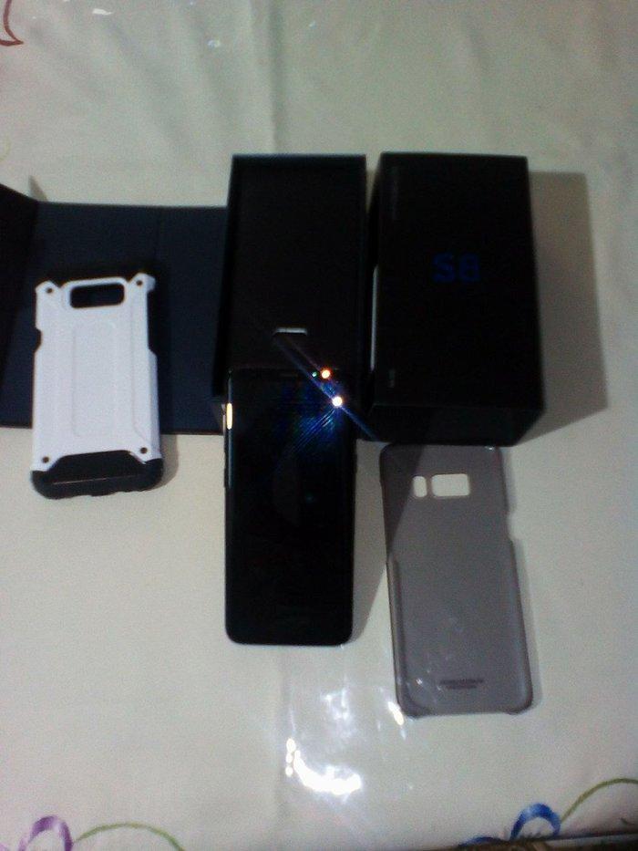 Samsung galaxy s8 midnight black αγορασμένο στης 10-4-2018Έκδοση σε Αθήνα