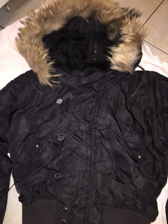 PAROSH Original ανδρικό μπουφαν με κουκουλα με γουνα κ φερμπυαρ που σνοιγει , τσέπες