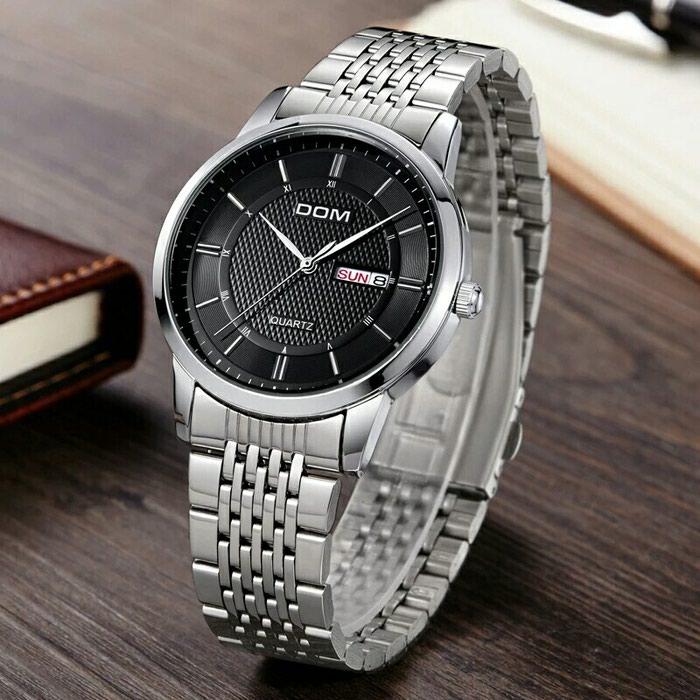 Деловые часы из нержавеющей стали для. Photo 1