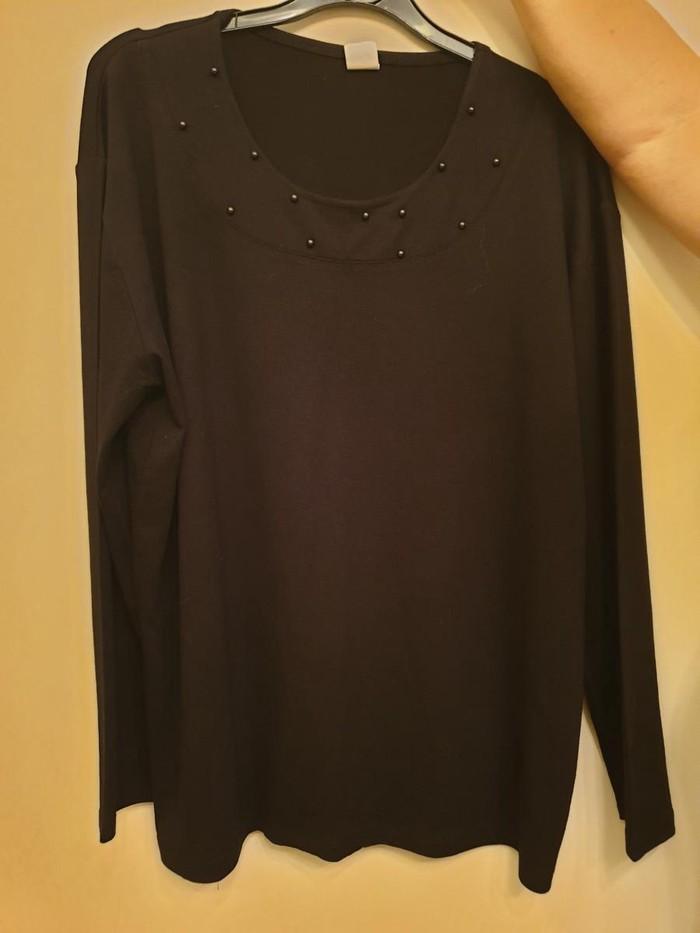 Μπλουζα γυναικεια μαυρη XL. Photo 0