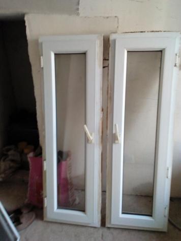 Пластиковые окна из турецкого материала 2 штуки ,один открывается левостороний,другой открывается в право за обе прошу окончательно