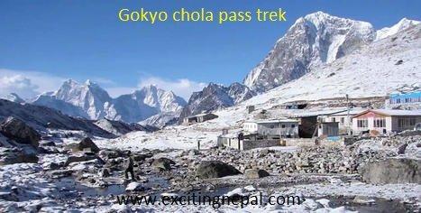 Everest Base Camp Gokyo Cho La Pass trek is a journey that takes you in Kathmandu