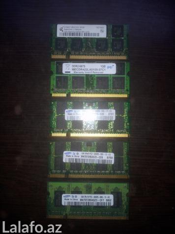 Bakı şəhərində Noutbook RAM DDR2 - 1 GB