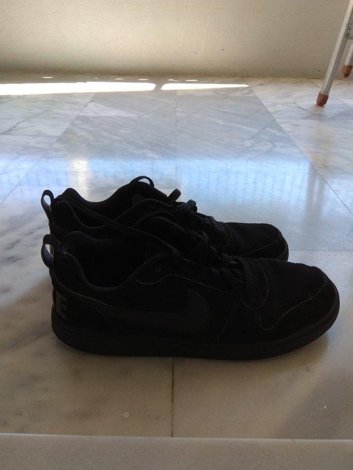 Nike  μαύρα παπούτσια ανδρικά σε άριστη. Photo 1