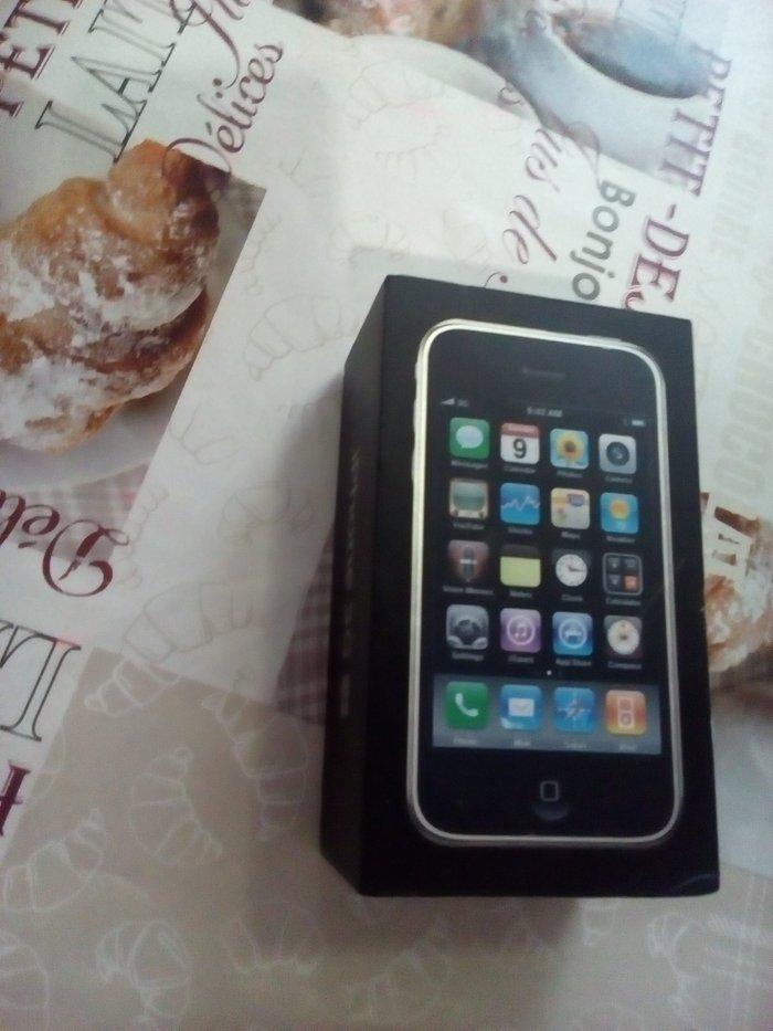 продаю коробку от Iphone 3gs   состояние хорошее. только коробка без в Бишкек