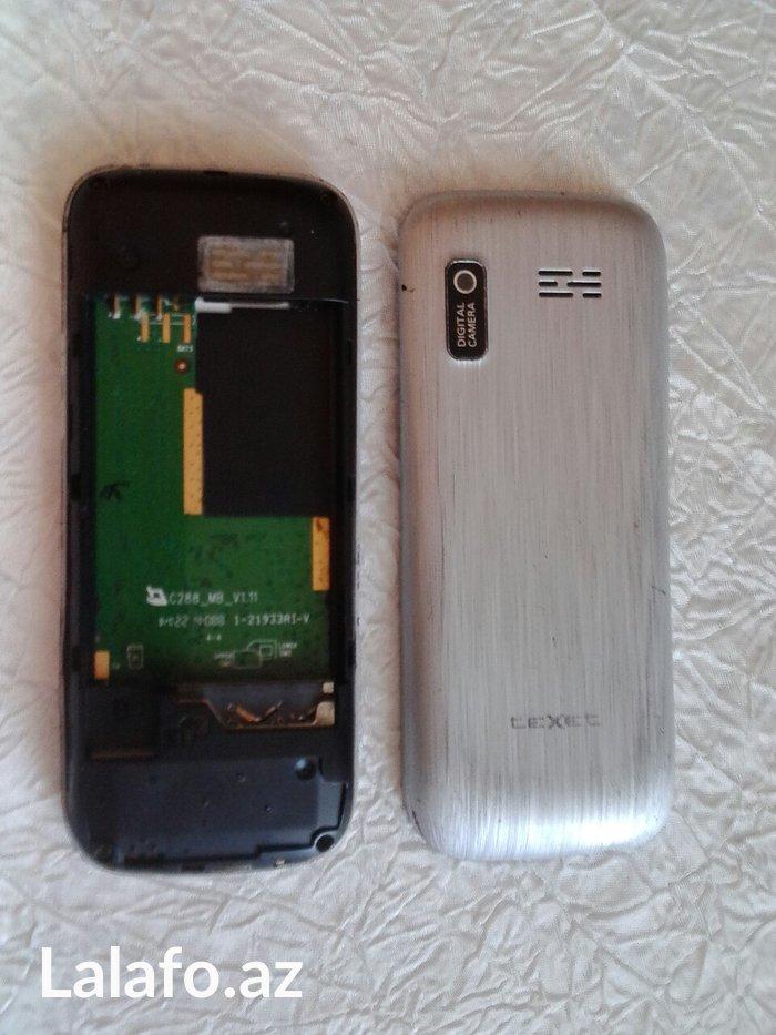 Bakı şəhərində Texet telefonu. Ekrani ishlemir,korpus kimi satilir.Batareyasi yoxdur.