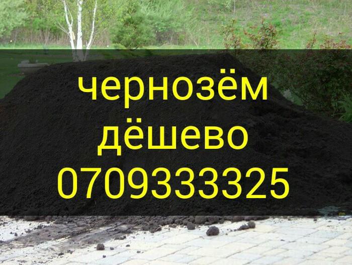 Чернозём горный для газона в Бишкек