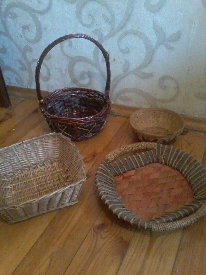 Продаю плетеные вазы и корзинки. в Бишкек
