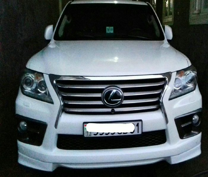 Lexus LX 2014. Photo 0