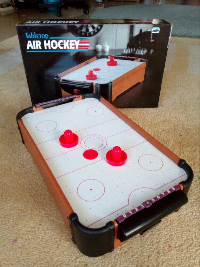 Καινουργιο επιτραπεζιο air hockey αγορασμενο πριν ενα μηνα