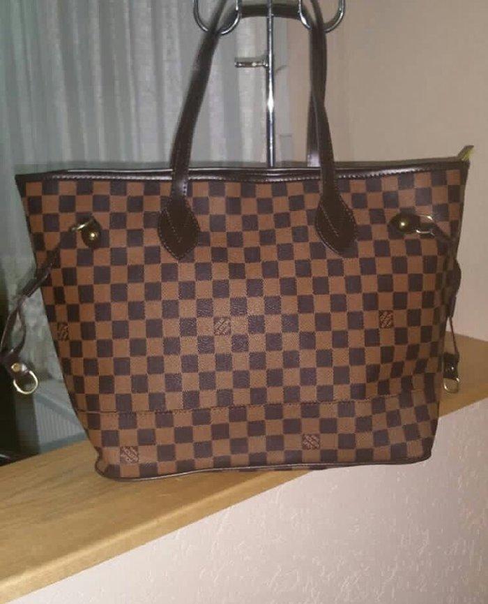 Nova torba u crnoj i braon boji