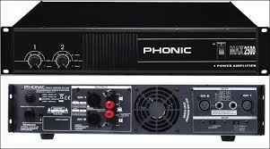 Усилитель phonic max 2500. Photo 1