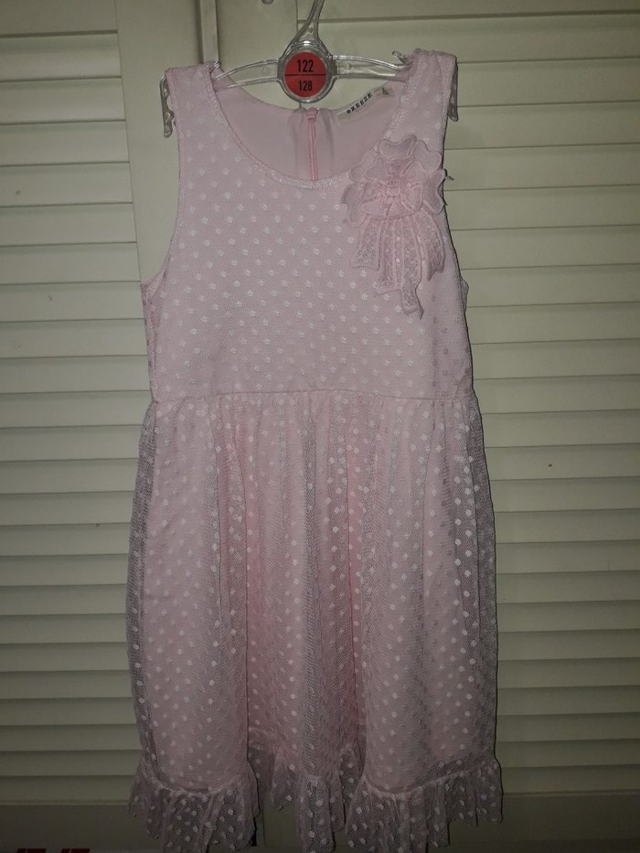 Breeze haljinica za devojcicu, vel 128, roze boje, bez ostecenja.. Photo 0