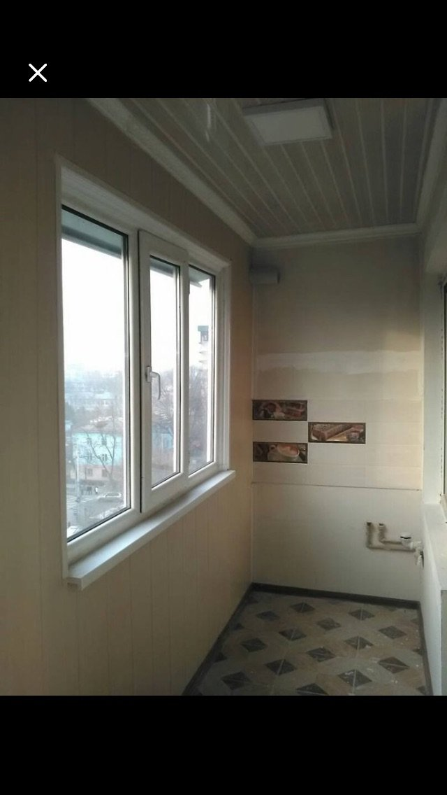 🛠утепление и отделка балконов замена в Лебединовка
