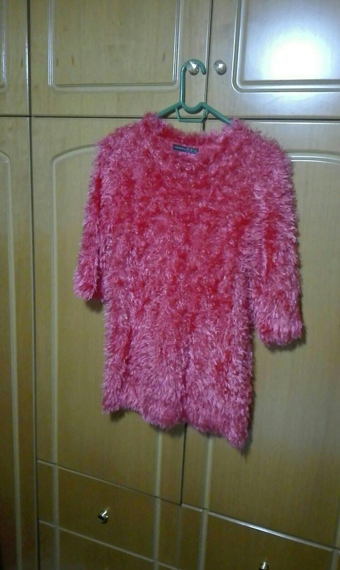 Μπλούζα τριχινη ροζ large σε Λαμία