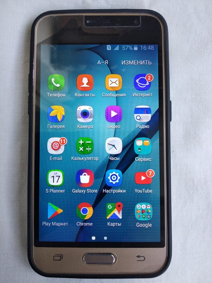 Меняю смартфон Самсунг J1 2016 на тиски среднего или большого размера.. Photo 0