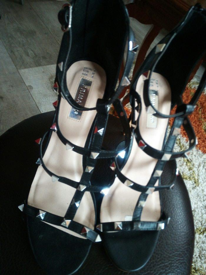 Prelijepe, kozne sandale, broj 39.Nemaju bas nikakva ostecenja. Photo 0