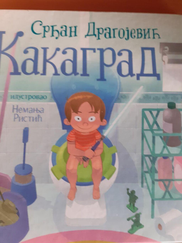 Knjiga - slikovnica vrlo poucna i pomaze deci za odvikavanje od noše