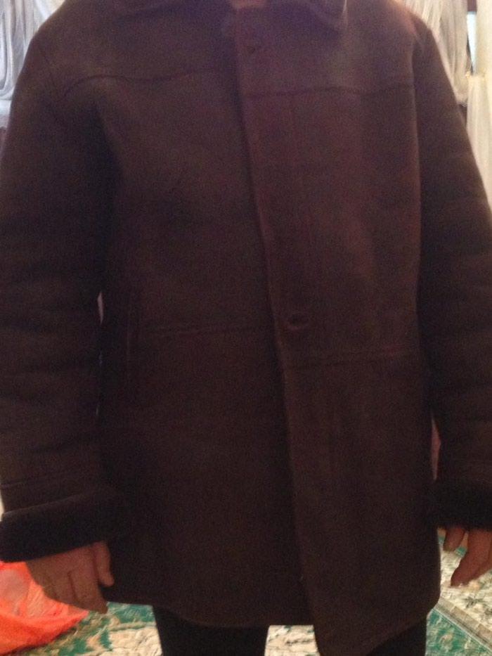 878ec999374d Новая мужская дублёнка, размер 52-54.Цвет коричневый., цена  4000 ...