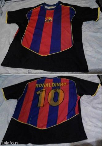 Barselona RONALDINJO DRES 900din.  0616094568 Ronaldinho Barcelona - Leskovac