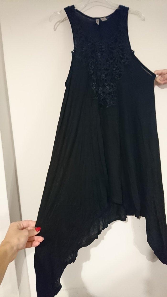 H&m ασύμμετρο φορεμα αφόρετο. εκοψα την καρτέλα και δεν το αλλαζαν