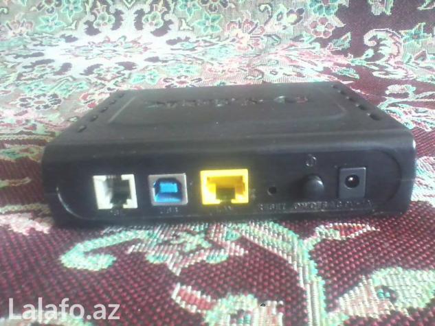 Adi wifi-zis adsl modemler tp-link td-8817 d-link  2520u ztef    831 в Баку
